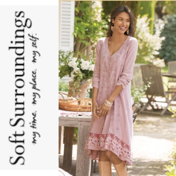f77ddb16d1d4 Soft Surroundings Genevieve Dress. M_5a9a0cce739d48762463bb42